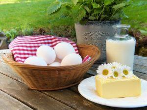 egg protein diet for healthy locks