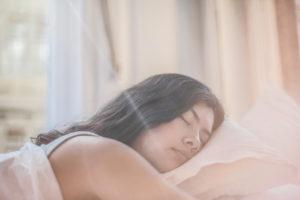sleep well for healthy hair and body