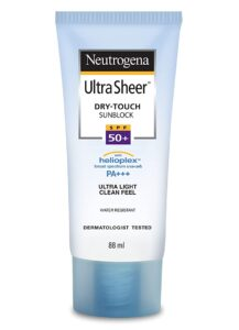 best spf 50 sunscreen in india