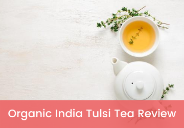 organic india tulsi green tea review