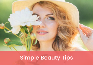 simple beauty tips for face