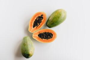 use papaya for instant glow